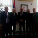Vukosavljević sa Udruženjima Srba iz Albanije 1